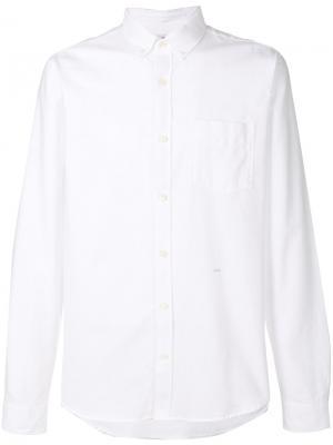 Классическая приталенная рубашка Closed. Цвет: белый