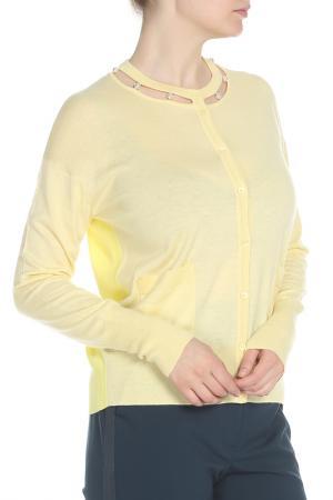 Кардиган Escada. Цвет: желтый