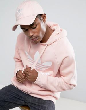 Adidas Originals Розовая кепка Orignals CF6325. Цвет: розовый