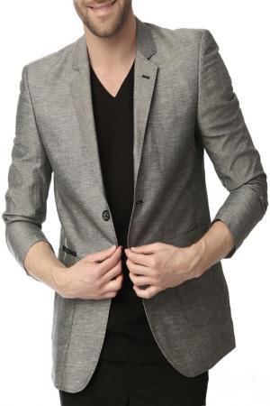 Пиджак Dewberry. Цвет: серый