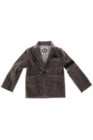 Пиджак Mini Shatsu. Цвет: серый