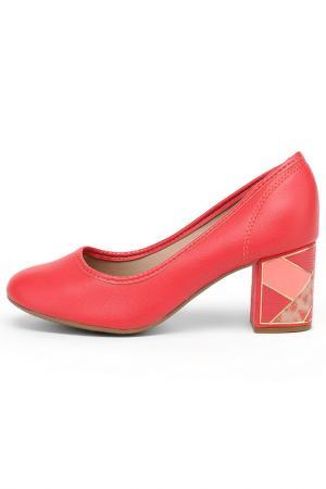 Туфли Beira Rio. Цвет: красный