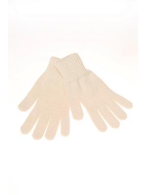 Перчатки Shapkoff. Цвет: молочный