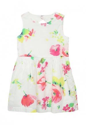 Платье Gap. Цвет: белый