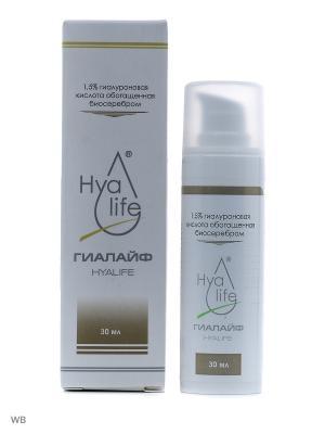 Гиалуроновая кислота 1,5%, обогащенная серебром Hyalife. Цвет: прозрачный