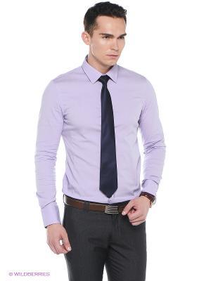 Рубашка Oodji. Цвет: сиреневый