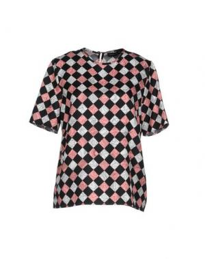 Блузка JONATHAN SAUNDERS. Цвет: черный