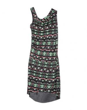 Платье до колена PINKO UNIQUENESS. Цвет: зеленый
