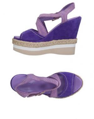 Сандалии FIORINA. Цвет: светло-фиолетовый