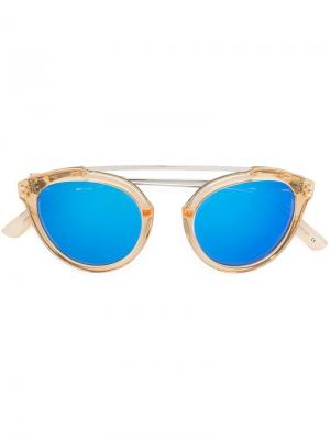 Солнцезащитные очки Flower Westward Leaning. Цвет: жёлтый и оранжевый