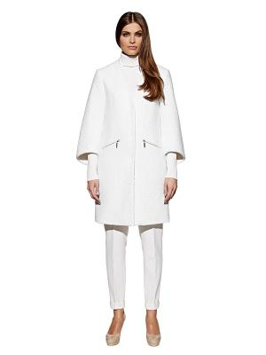 Пальто APART. Цвет: белый