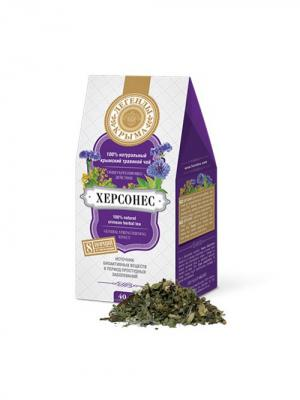 Легенды Крыма Натуральный крымский травяной чай Херсонес, 40 гр. Цвет: фиолетовый