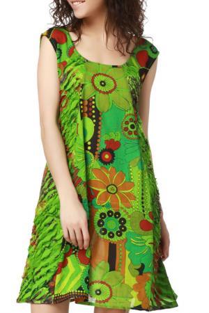 Платье Dewberry. Цвет: green