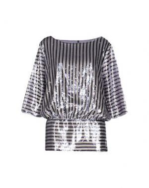 Блузка LIVIANA CONTI. Цвет: сиреневый