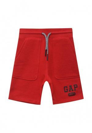 Шорты Gap. Цвет: красный