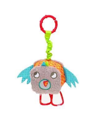 Развивающая игрушка птичка Little Bird Told Me. Цвет: серый