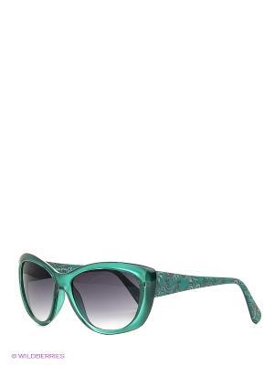 Очки Franco Sordelli. Цвет: зеленый, серо-голубой