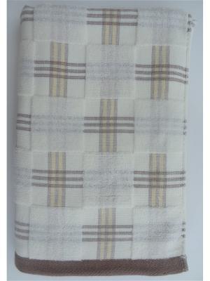 Банное полотенце A and C Collection. Цвет: желтый