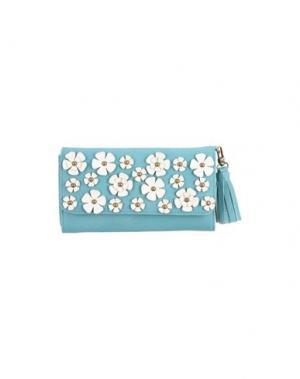 Бумажник DARLING. Цвет: изумрудно-зеленый