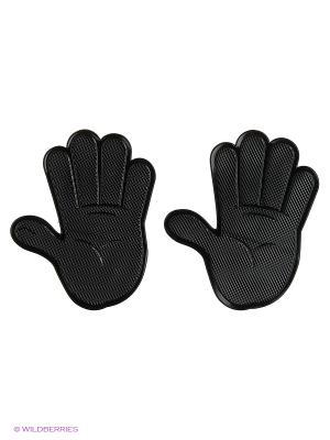 Липкий коврик SP-05BK Рука силиконовый черный. Комплект 2шт. WIIIX. Цвет: черный