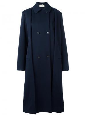 Объемное пальто Ports 1961. Цвет: синий