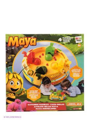 Настольная игра Ловушка Пчелка Майя IMC toys. Цвет: желтый