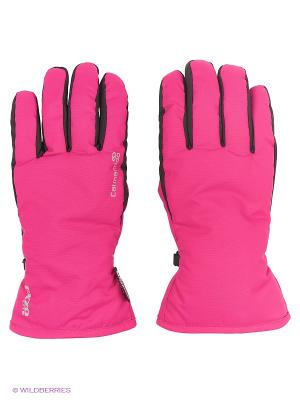 Перчатки горнолыжные Catmandoo. Цвет: фуксия