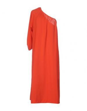 Платье до колена ..,MERCI. Цвет: красный