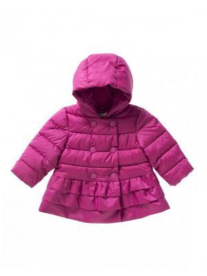 Куртка United Colors of Benetton. Цвет: фиолетовый
