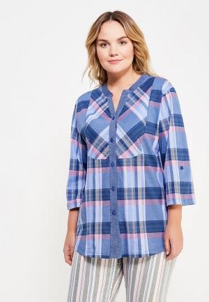 Рубашка домашняя Лори. Цвет: синий