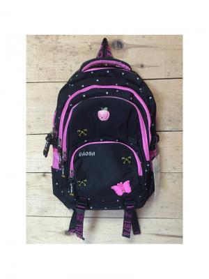 Рюкзак спортивный, цвет черный, PA18256, Pink Apple Gaoba. Цвет: черный
