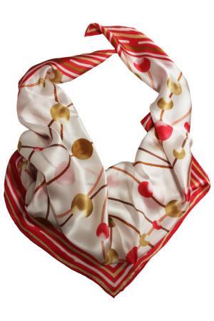 Шелковый платок SHALBE. Цвет: розовый