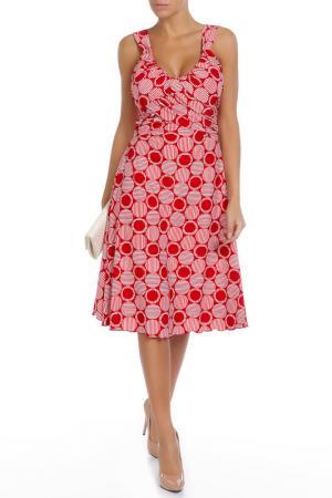 Платье Frank Lyman Design. Цвет: красно-белый