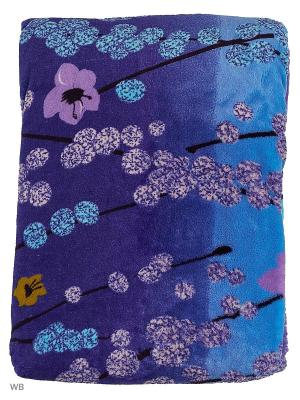 Плед-халат Dorothy's Нome. Цвет: синий, голубой, сиреневый, черный