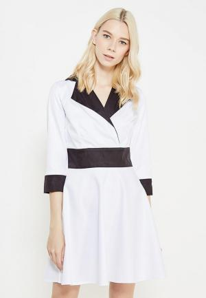 Платье SK House. Цвет: белый