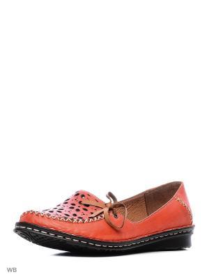 Туфли Goergo. Цвет: красный