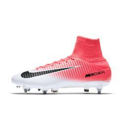 Футбольные бутсы для игры на мягком грунте  Mercurial Veloce III Dynamic Fit SG-PRO Nike. Цвет: розовый