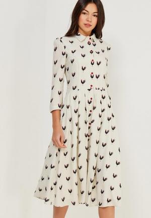 Платье Ksenia Knyazeva. Цвет: белый