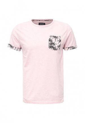 Футболка d-Struct. Цвет: розовый