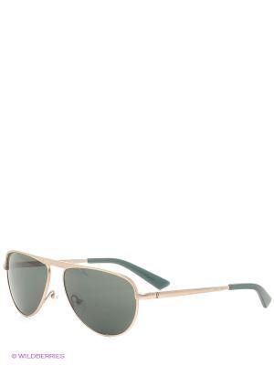 Солнцезащитные очки IS 11-289 02 Enni Marco. Цвет: зеленый, серебристый