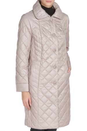 Пальто MONTSERRAT. Цвет: серый