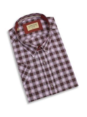 Рубашка мужская Corleone.. Цвет: бордовый