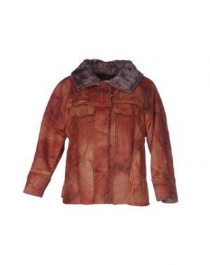 Куртка TROU AUX BICHES. Цвет: пастельно-розовый