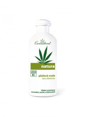 Лосьон с экстрактом семян конопли для сухой и нормальной кожи Natura Cannaderm. Cannaderm. Цвет: белый, зеленый