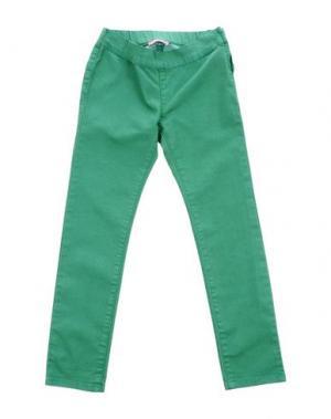 Джинсовые брюки LIU •JO BABY. Цвет: зеленый