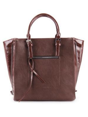 Женская сумка S.LAVIA. Цвет: коричневый