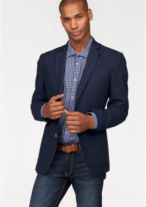 Пиджак Class International. Цвет: темно-синий меланжевый