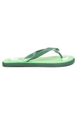 Пантолеты LAMALIBOO. Цвет: зеленый