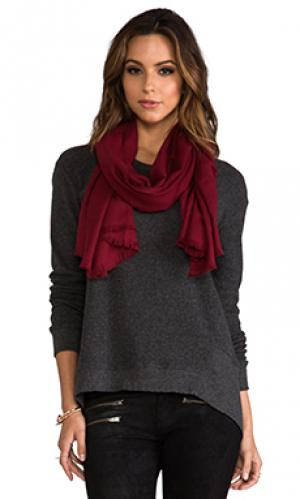 Rayon eyelash scarf Love Quotes. Цвет: красный