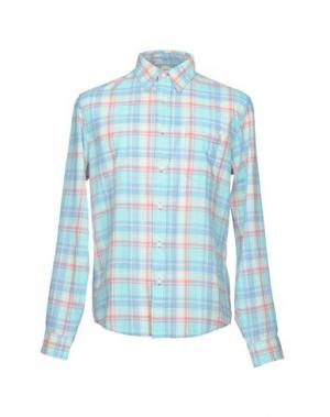Pубашка FAHERTY. Цвет: лазурный